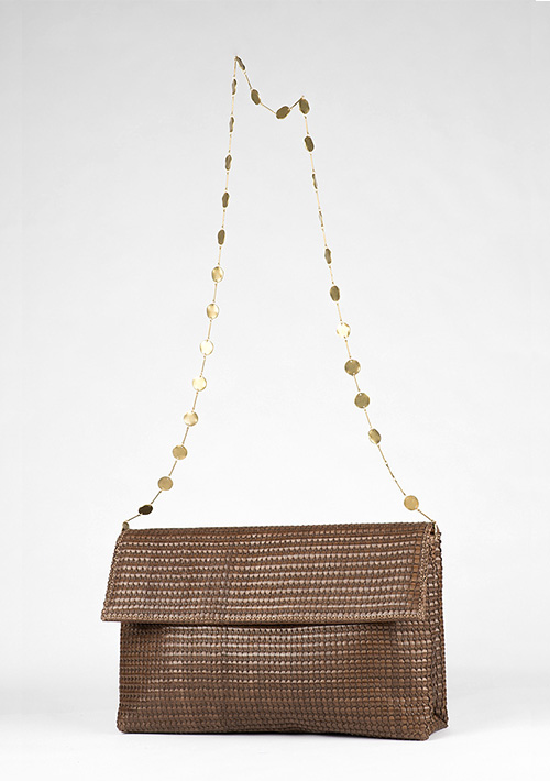 BonVivantBags - bolso de mano Casablanca Chocolate