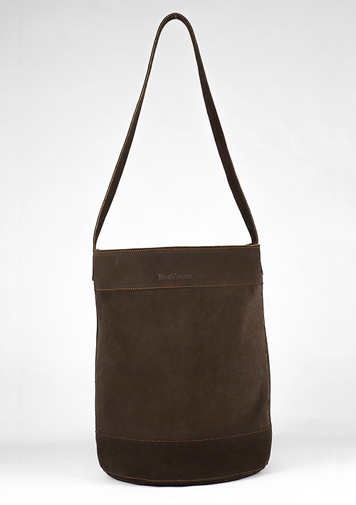 BonVivantBags - saco grande Sabah Marron Chocolate